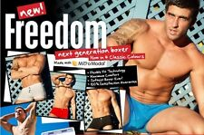 AussieBum Freedom Boxers New 4 Colors M, L, XL Softest Boxer Ever US Seller!!
