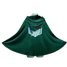 Cape Anime  Investigation Corps Cloak Cosplay Clothes Attack on Titan Levi