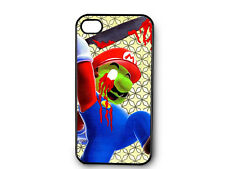 Zombie Mario Decorated iPhone4 or iPhone5 Case N186