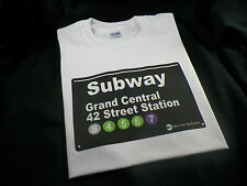 NYC Subway sign New York T-shirt Grand Central 42 street station