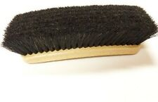 Professional Shoe Shine Polish Buffing Brush Star Brush 100% Horse Hair