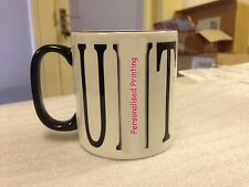 New Naughty Rude Mug with Birthday Photo etc  Various Coloured Handle Mugs