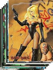 BARB-WIRE Trading Cards BUY ONE CARD get NINE FREE! (Your Choice) Cards 49-72