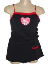 NWT SANRIO HELLO KITTY VALENTINE LOVE CAMI TANK TOP + SHORT SLEEP SET S