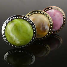 3 colors high quality big colorful cloud stone curtain tie back holders - pair