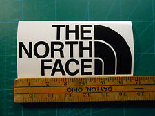 """ONE PAIR The North Face Logo Decal Sticker 4"""" or 6.5"""" Jacket Shorts Pants Shirt"""