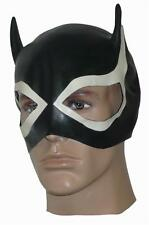 Latex Cat Mask - Black & White - Heavyweight Latex - Rubber Fetish - Unisex