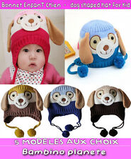 BEAUTIFUL dog shaped hat For KID BOY GIRL VERY WARM 5 COLOR CHOISE FREE SHIPPING