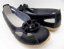 WOMENS Comfort  Soft LEATHER FLATS Ballet SHOES Sz 7.8.9.10 WALK Casual SHOES