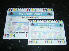 childminder daily diary childminding daily record book 3 years + daily contact