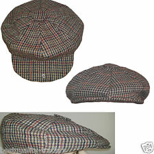 BAKER BOY  TWEED FLAT CAP HAT AVAILABLE IN THREE COLOURS