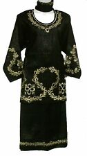 "African Clothing Women Skirt Set Ethnic 3 PCs Suit Plus Size 54"" to 56"" around"