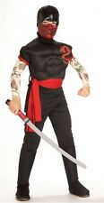 Ninja Warrior Child Costume Halloween Boys Outfit