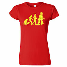 Big Bang Theory Evolution of Robot T shirt inspired by Sheldon Cooper character