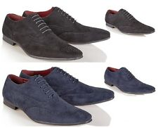 MENS ITALIAN LEATHER LINED BROGUE SHOES FORMAL OFFICE WORK CASUAL BOYS SIZE