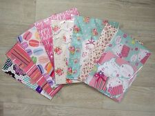 Birthday Party Wrapping Paper Tag Card Mum Gran Sister Daughter Giftwrap Female