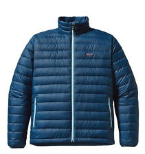 PATAGONIA DOWN SWEATER 800 FILL JACKET GLASS BLUE GLSB AUTHENTIC MENS NEW TAGS