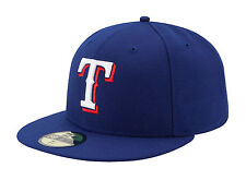NEW ERA 59FIFTY MLB CAP TEXAS RANGERS AUTHENTIC ON FIELD FITTED 2014 GAME HAT