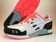 ASICS Gel Lyte III Infrared Orange White Black Grey H2B4N-0101 Flamingo Red Fieg