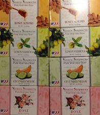 Lot of 8 Venezia Soapworks Lemon Verbena, Rose, Cucumber Melon, or Honey Almond