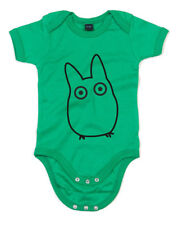 Chibi Totoro, My Neighbor Totoro inspired Kid's Printed Baby Grow