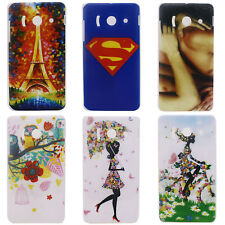Superman Owl Tower Image Hard Back Cover Case for Huawei Ascend Y300 U8833 T8833