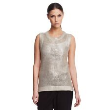Kenneth Cole Marcy Open-Weave Sweater