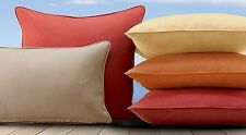 SOLID Sunbrella Outdoor  Pillow 16x16 with cording and zipper