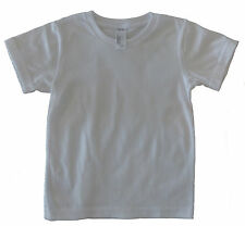 Infant T-shirts. White. 100% Certified Organic Cotton. Made in Australia.