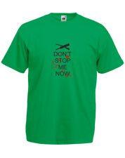 Don't Stop Me Now, Shaun of the Dead inspired Men's Printed T-Shirt