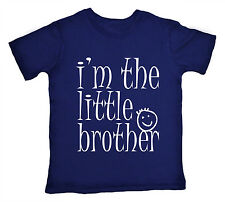 I'm the Little Brother sibling Funny Cute T-shirt Boy Top Gift Clothes Present