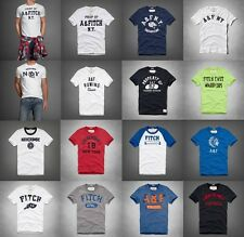 NEW Abercrombie & Fitch Men's Graphic T-Shirt Embroidered [A&F] $34