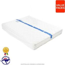 King Queen Single Bed Plastic Mattress Protector Cover Storage Bag Value Packs