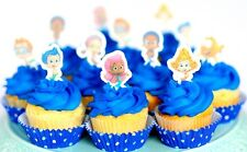 Bubble Guppies edible cake or cupcake toppers birthday personalized PRE-CUT