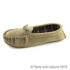 Moccasin Slippers, Size 6, Ladies Moccasins, Women's Slippers, Beige, Navy, Plum