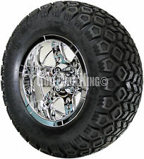 "12"" RHOX RX254 Wheel with Tire Combo and EZGO Golf Cart Lift Kit"