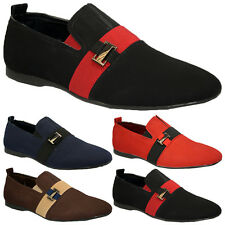 NEW MENS FASHION DESIGNER SHOES ITALIAN LOAFERS CASUAL MOCCASIN DRIVING BOOTS