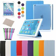Magnetic Cover Case AUTO wake-up for Apple iPad 2/3/4 Air/mini Free Stylus Film