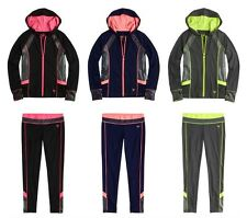 JUSTICE Girls Glam Active Jacket or Leggings Pants, NEW, 6 7 8 10 12 14 16 18 20