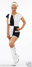 LADIES SWINGING 1960s 60s MOD CHIC COSTUME FANCY DRESS RETRO OUTFIT S,M & L