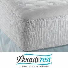 Beautyrest Soft Cotton Top Mattress Pad Protector Cover Comforter Bed Set Plush