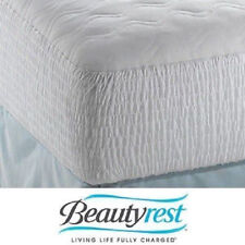 Beautyrest Soft Cotton Top Mattress Pad Protector Cover Bed Bedroom Sleep Night