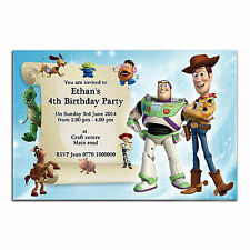 i02 Personalised Birthday party invitations invites 1st 2nd 3rd 4th 5th any text