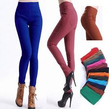 Women High Waist Pants Stretch Sexy Pencil Slim Skinny Jeans Trousers New G97863