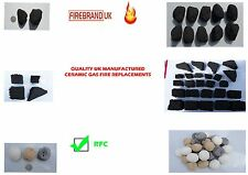 CHECK THESE OUT!! gas fire coal / coals / ripped coals / pebbles