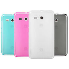 Soft Pudding Case Cover Skin + Screen Protector for Huawei Ascend Y511