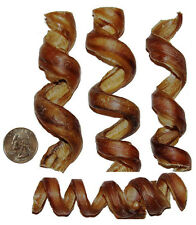 "4""-6"" CURLY BULLY STICKS, bull bully springs - Regular Select Thick - Dog Chew"