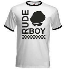 Pork Pie Hat Ska Rude Boy T Shirt  The Specials Madness 2Tone Ska Dammers Suggs