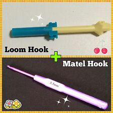 Loom Hook Replacement Original Rainbow Mini tool + Metal hook for rubber bands