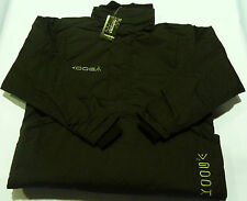 KOOGA KIWI PITCHSIDE/TRAINING/LEISURE RUGBY JACKET-BLACK/SILVER